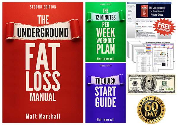 Underground Fat Loss Manual 2nd Edition and Bonuses